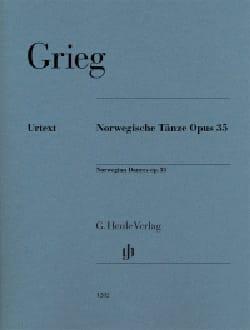 Danses Norvégiennes Opus 35 - GRIEG - Partition - laflutedepan.com