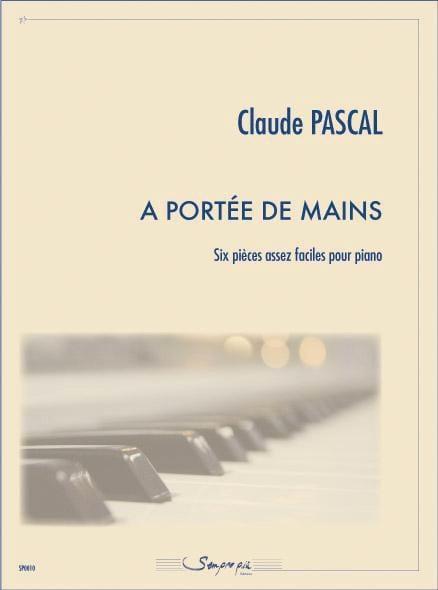 a portée de mains - Claude Pascal - Partition - laflutedepan.com