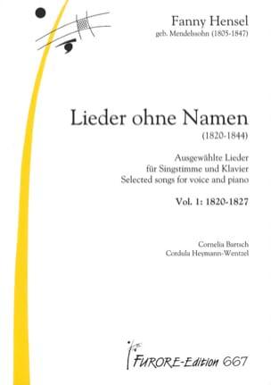 Lieder Volume 1 : Lieder Ohne Name laflutedepan