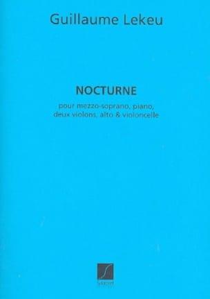 Nocturne. - Guillaume Lekeu - Partition - laflutedepan.com