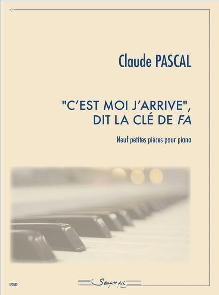 c'est moi j'arrive dit la clé de fa - Claude Pascal - laflutedepan.com