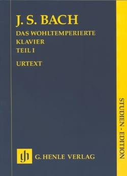 Le Clavier Bien Tempéré. Volume 1 BACH Partition laflutedepan