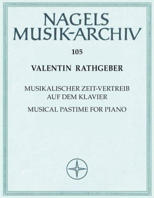 Musicalischer Zeitvertreib auf dem Clavier - laflutedepan.com