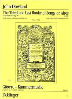 The 3rd And Last Booke Of Songs or Aires / In Darknesse Let Mee Dwell laflutedepan