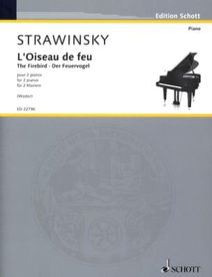 L'Oiseau de Feu STRAVINSKY Partition Piano - laflutedepan