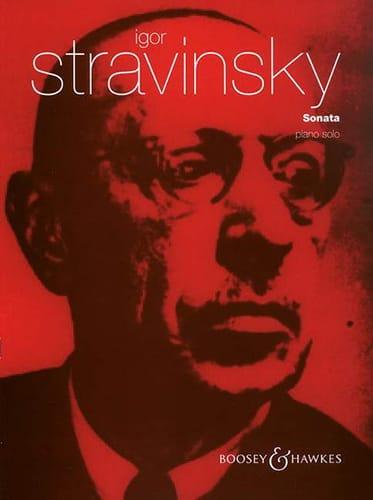 Sonate - STRAVINSKY - Partition - Piano - laflutedepan.com