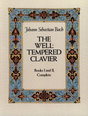 Le Clavier Bien Tempéré. Livres 1 & 2 Complet BACH laflutedepan