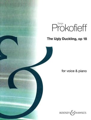 The Ugly Duckling Opus 18 - PROKOFIEV - Partition - laflutedepan.com