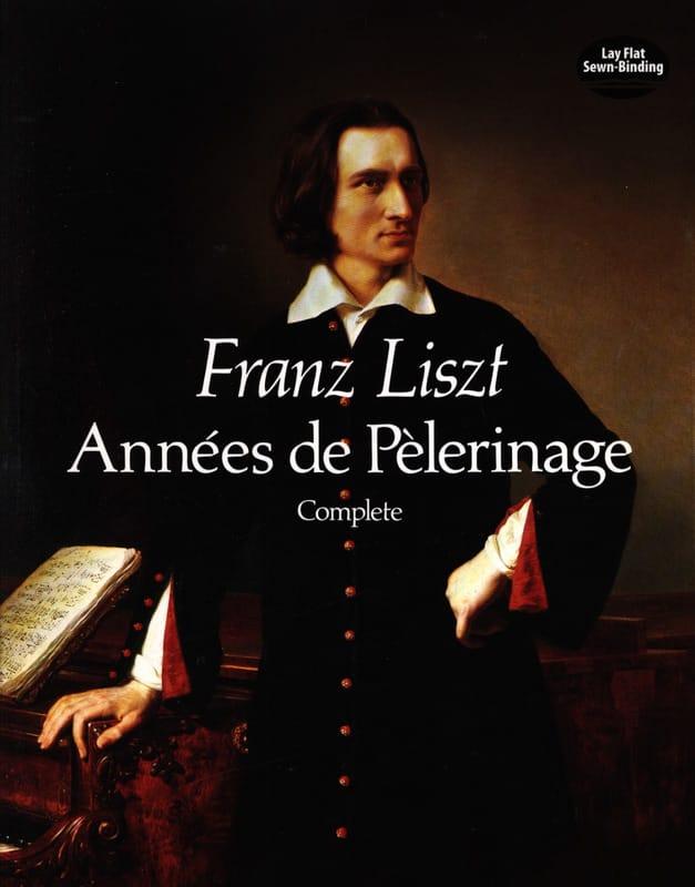 Années de Pèlerinage Complet - LISZT - Partition - laflutedepan.com