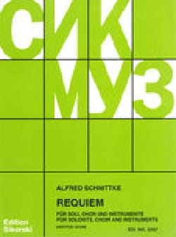 Requiem. Conducteur SCHNITTKE Partition Chœur - laflutedepan