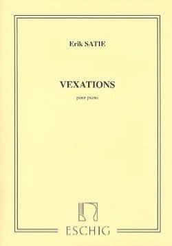 Vexations - SATIE - Partition - Piano - laflutedepan.com
