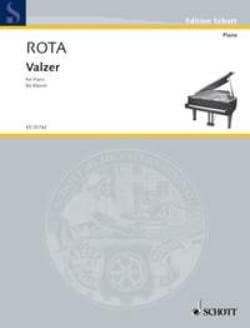 Valzer ROTA Partition Piano - laflutedepan