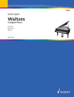 Scott Joplin - Valses - Partition - di-arezzo.fr