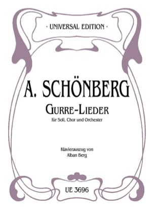 Gurre-Lieder. - SCHOENBERG - Partition - Chœur - laflutedepan.com