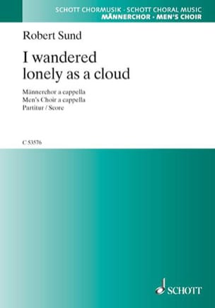 I Wandered Lonely As A Cloud Robert Sund Partition laflutedepan