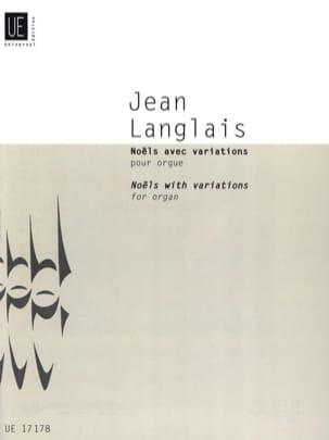 Noëls avec variations pour orgue 1979 Jean Langlais laflutedepan