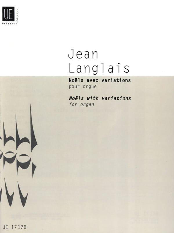 Noëls avec variations pour orgue 1979 - laflutedepan.com