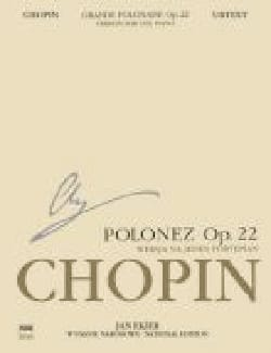 La Grande Polonaise Opus 22 CHOPIN Partition Piano - laflutedepan