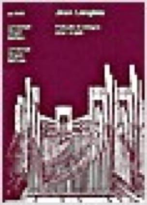Prélude et Allegro Pour Orgue 1982 - Jean Langlais - laflutedepan.com