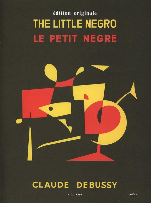Le Petit Nègre - DEBUSSY - Partition - Piano - laflutedepan.com