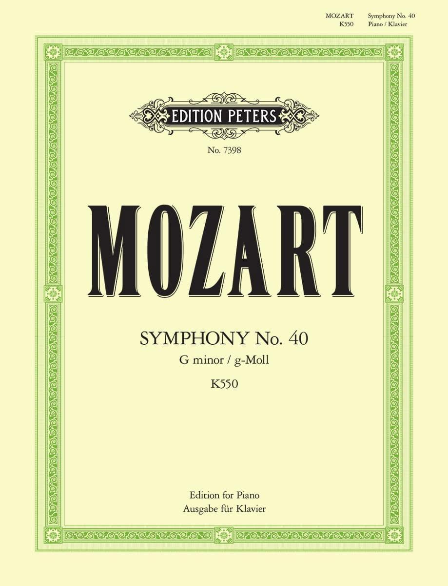 Symphonie n° 40 KV 550 - MOZART - Partition - laflutedepan.com