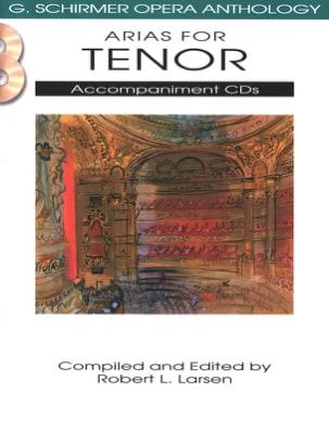 Arias for Ténor. CD Accompagnement Compositeurs Divers laflutedepan