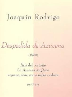 Despedida de Azucena - RODRIGO - Partition - laflutedepan.com