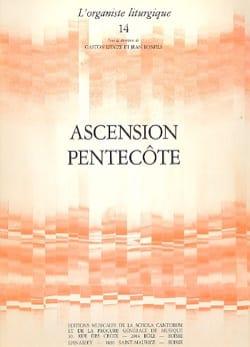Ascension - Pentecôte Partition Orgue - laflutedepan