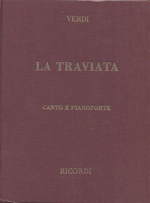 La Traviata. Relié - VERDI - Partition - Opéras - laflutedepan.com
