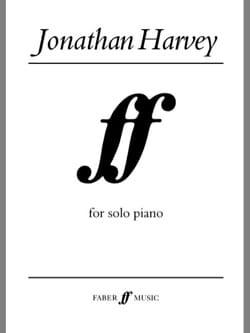 Ff Jonathan Harvey Partition Piano - laflutedepan