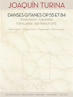 Danses gitanes Opus 55 et Opus 84 TURINA Partition laflutedepan