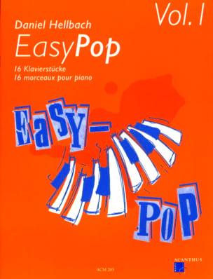 Easy Pop Volume 1 Daniel Hellbach Partition Piano - laflutedepan