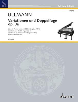 Variationen und Doppelfuge op. 3a Viktor Ullmann laflutedepan