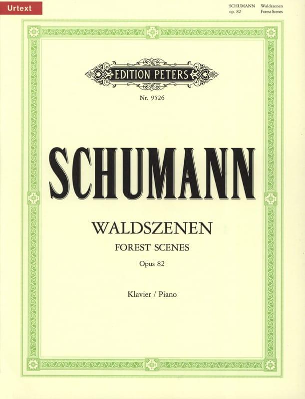 Waldszenen Opus 82 - SCHUMANN - Partition - Piano - laflutedepan.com