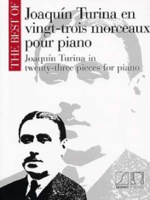 23 Morceaux Pour Piano - TURINA - Partition - Piano - laflutedepan.com