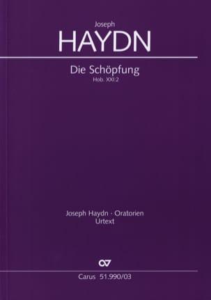 Die Schöpfung Hob 21-2 HAYDN Partition Chœur - laflutedepan