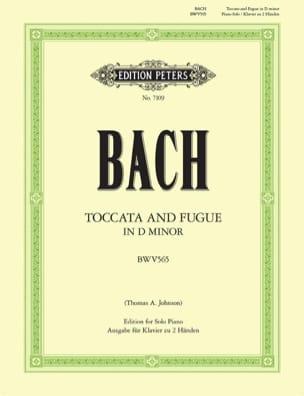 Toccata et Fugue En Ré Mineur BWV 565 BACH Partition laflutedepan