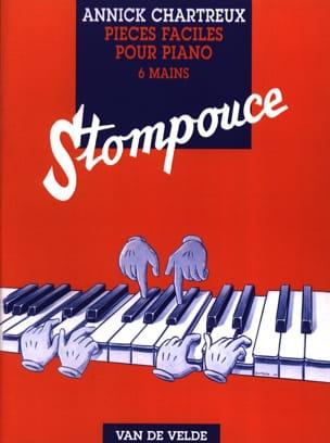 Stompouce. 6 Mains Annick Chartreux Partition Piano - laflutedepan