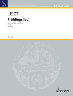Franz Liszt - Frühlingslied - Partition - di-arezzo.co.uk