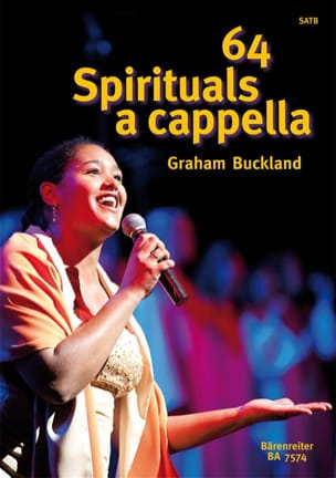 64 Spirituals A Cappella Partition Chœur - laflutedepan