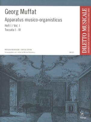 Apparatus Musico-Organisticus Volume 1 Georg Muffat laflutedepan