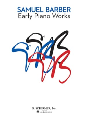Early Piano Works BARBER Partition Piano - laflutedepan