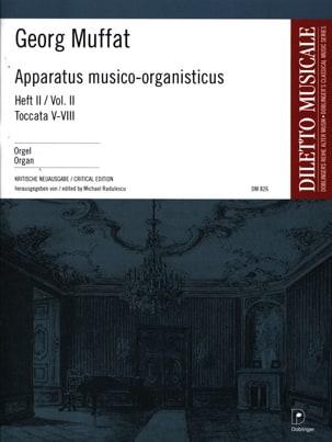 Apparatus Musico-Organisticus Volume 2 Georg Muffat laflutedepan