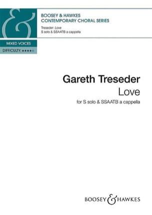 Love Gareth Treseder Partition Chœur - laflutedepan