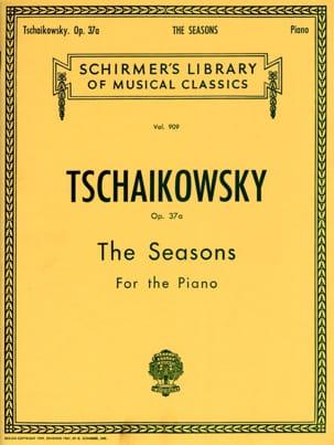 Les Saisons op. 37a TCHAIKOVSKY Partition Piano - laflutedepan