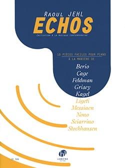 Echos JEHL Raoul Partition Piano - laflutedepan