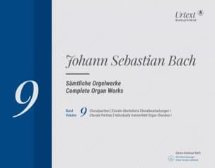 Sämtliche Orgelwerke Volume 9 Johann Sebastian Bach laflutedepan