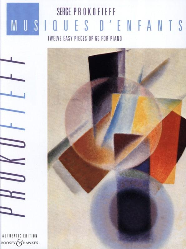 Musiques D'enfants Opus 65 - PROKOFIEV - Partition - laflutedepan.com