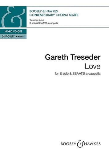 Love - Gareth Treseder - Partition - Chœur - laflutedepan.com