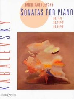 Sonates Opus 6, 45, 46 KABALEVSKY Partition Piano - laflutedepan